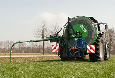 De Sieger Drain-jet drainagereiniger in bedrijf